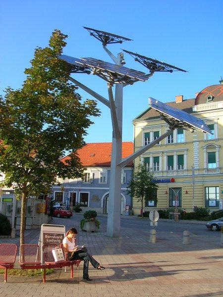 Photo voltaic solar panels